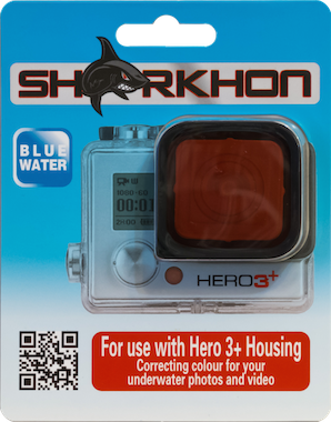 Sharkhon Red Filter for Hero3+