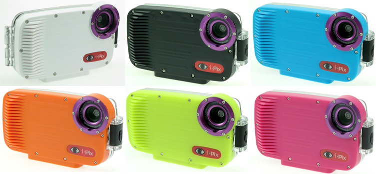 i-Pix for iPhone underwater Housing