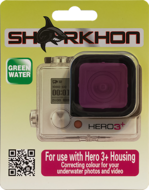 Sharkhon Magenta Filter for Hero3+